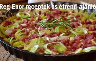 Reg-Enor receptek és étrendajánlók