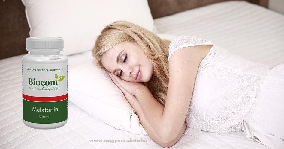 Melatonin - alvászavar ellen
