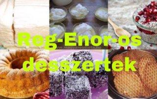 Reg-Enor-os sütemények
