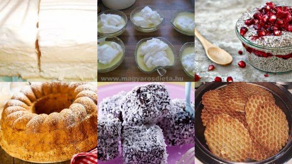RegEnor-os sütemény receptek