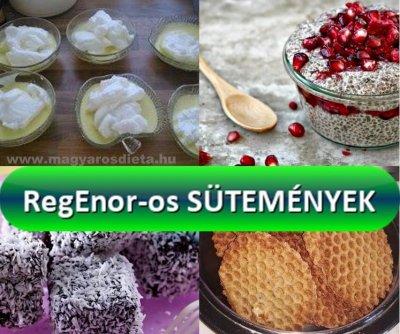 RegEnor-os sütemények